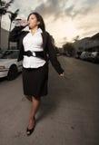 Walking businesswoman Stock Photos