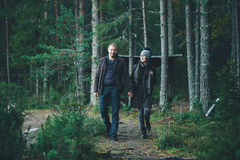 Walking Couple Stock Photography