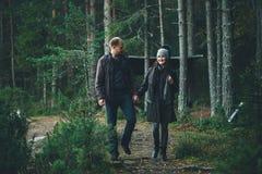 Walking Couple Stock Photos