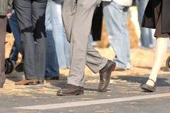 Walking Crowd Royalty Free Stock Image