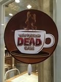 The Walking Dead Cafe. In Senoia Georgia Stock Image