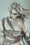 The walking dead scary girl stock photos