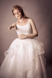 Walking Dead - Zombie Bride undead Stock Photography