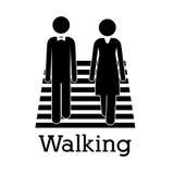 Walking Royalty Free Stock Images