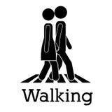Walking Royalty Free Stock Photo