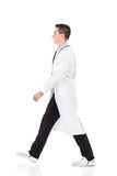 Walking doctor Royalty Free Stock Images
