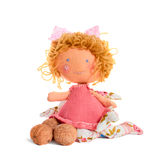 Walking doll Stock Images