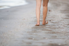 Walking exercise Royalty Free Stock Photography