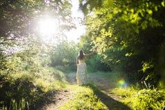Walking fairy Royalty Free Stock Image