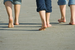 Walking feet Royalty Free Stock Photo