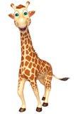 Walking Giraffe cartoon character Royalty Free Stock Photos