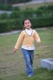 Walking  girl Royalty Free Stock Photos