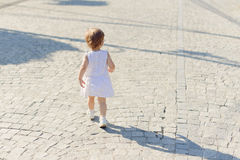 Walking Girl Stock Photos