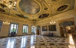 Dazzling interior of Munich Residence Royalty Free Stock Photo