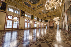 Dazzling interior of Munich Residence Royalty Free Stock Images