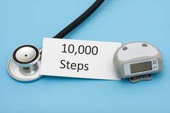 Walking for a Healthy Heart Royalty Free Stock Photography