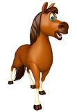 walking Horse cartoon character Royalty Free Stock Photography