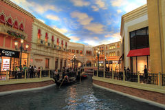 Walking in Las Vegas. City streets. Commercial and private build Stock Image