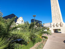 Walking in Las Vegas. City streets. Commercial and private build Royalty Free Stock Photography