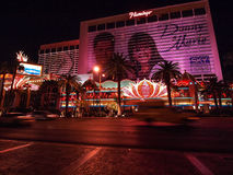 Walking in Las Vegas. City streets. Commercial and private build Stock Images