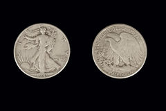 Walking Liberty Half Dollar Royalty Free Stock Photo