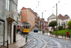 Walking in Lisbon Royalty Free Stock Photos