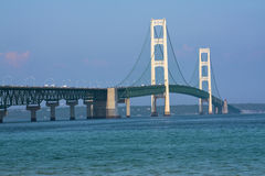 Walking Mackinac Bridge - Labor Day Stock Photos