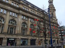 Manchester theatre Royalty Free Stock Images