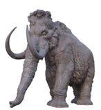 Walking mammoth Royalty Free Stock Images