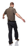 Walking man Stock Photography