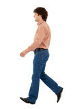 Walking man Royalty Free Stock Images