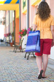 Walking on the market Royalty Free Stock Photography