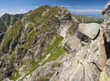 Walking mountains Royalty Free Stock Images