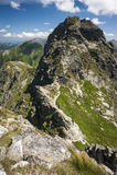 Walking mountains Stock Photography