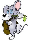 Walking Mouse Stock Photography