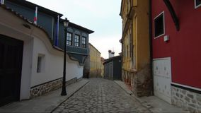 The amazing architecture of revival Plovdiv Old Town