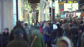 Walking in New York City slow motion (1 of 11)