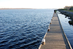 Free Walking On A Pier Stock Images - 4408844