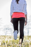Walking outdoors on the fresh air in spring Stock Image