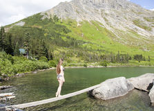 Free Walking Over The Lake Stock Photography - 57835352