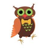 Walking owl Royalty Free Stock Photos