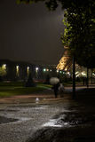 Walking in Paris Royalty Free Stock Photography