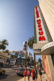 Walking past Hollywood Museum in Los Angeles Royalty Free Stock Photos