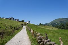 Countryside, Navarre region, Northern Spain royalty free stock image