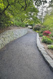 Walking Path at Crystal Springs Rhododendron Garden Royalty Free Stock Photo