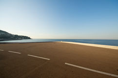 Walking path,Nice, France Royalty Free Stock Images