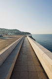 Walking path,Nice, France Royalty Free Stock Photo