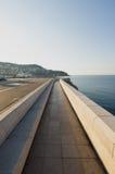 Walking path,Nice, France Royalty Free Stock Photo