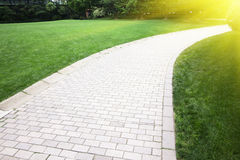 Walking path Royalty Free Stock Photos