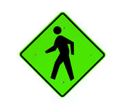 Walking path sign Royalty Free Stock Image